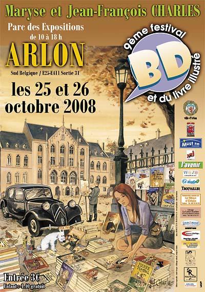 ArlonBDAffiche2008