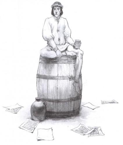 Capitol, Jean Teulé, Luigi Critone, Je François Villon, Delcourt, Histoire, biographie, Poésie