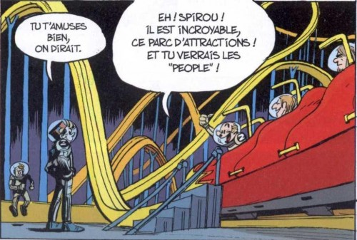 Capitol, Spirou et Fantasio, La face cachée du Z, Yoann, Vehlmann,Dupuis,Aventures
