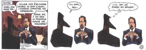 Capitol, Christophe Blain, Abel Blanzac,Quai d'orsay, Humour, politique, société, Dominique de Villepin