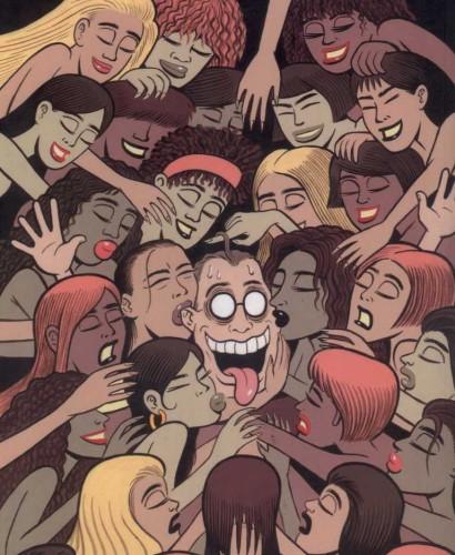 Capitol, Joe Matt, Delcourt, Outsider, Le pauvre type, Humour, biographie, société, comics