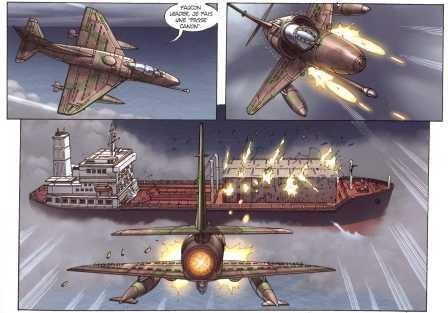 Capitol, Malouines, Barron, Taborda, Paquet, 810, aviation, guerre, histoire, 092010