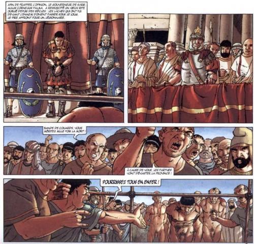 Capitol,Boucliers de Mars, Gine, Chaillet, Glenat, 810, Histoire, Rome, antiquité, 03/2012