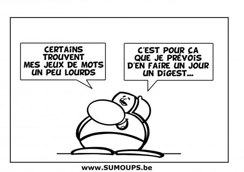 sumoups, sourire, humour, bd, jeux de mots, éditeurs, hebdomadaire, 2012, sumoups.be, jeux de mots,