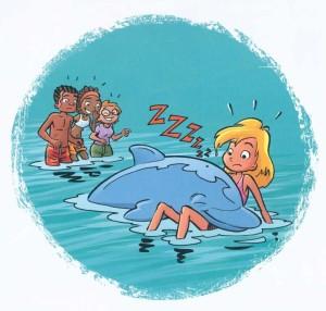 sapin, bamboo, humour, dauphin, hawai, mer, 510, 052012, vacances, plage, animal