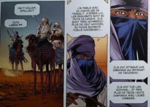 les quatre coins du monde,labiano,dargaud,aventure,histoire,aventure hitorique,désert,sahara,colonisation