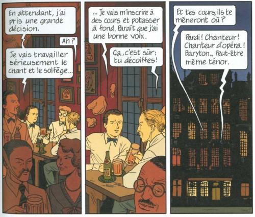 Capitol, La marque Jacobs, Alloing, Rodolphe, Delcourt, Mirages, 7.5/10, biographie, Edgar P. Jacobs, 11/2012.