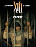 xiii, dargaud, l'appat, espionnage, thriller, polar, sente, jigounov, marquebreucq, 112012, 910