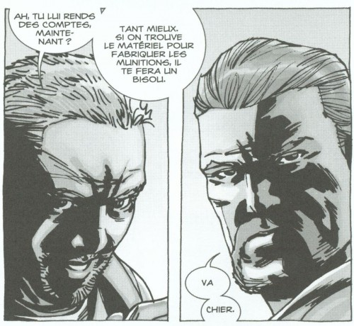 walking dead, delcourt, contrebande, zombies, comics, survivants, 012013, 0810, adlard, kirkman, sf, science fiction, mort