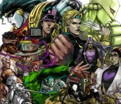 jojo's bizarre adventure,stardust crusaders,araki,manga,shonen,tonkam,action,aventure,stand,fantastique,vampire,famille,022013,610