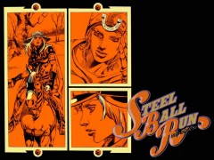 steel ball run,cheval,course,tonkam,shonen,032013,810,aventure,fantastique,manga,araki