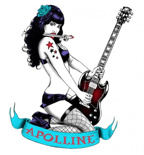 pin up,femme,sexy,metal,gothique,will argunas