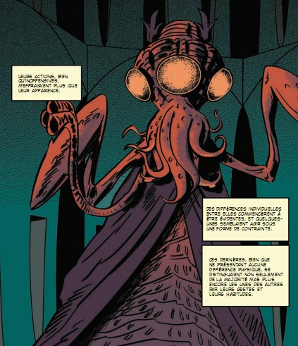 Ian Culbard, H.P. Lovecraft, Akileos, dans l'abime du temps