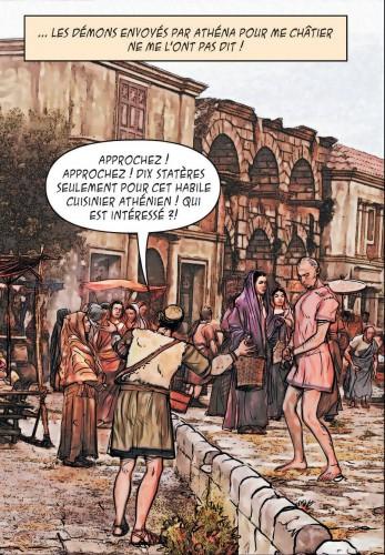 minas taurus,thomas mosdi,david cerqueira,le lombard,grece antique,thriller,fantastique