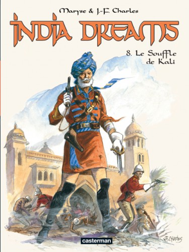 India dreams,casterman,inde,calcutta,charles,112013,0810,agra,rajasthan,colonie,britannique