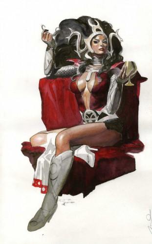 pin up,femme,sexy,parel,comics,super heros