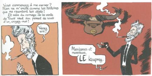 Le massacre, Le musée insolite de limul goma, Hureau, boîte à bulles, 01/2013
