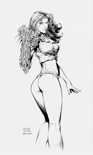 pin up,sexy,femme,finch