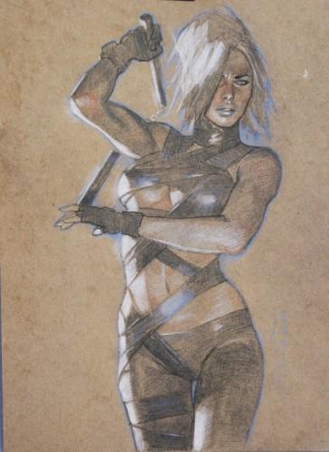 Gerald Parel,pin up,sexy,femme