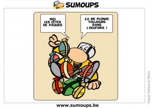 sumoups, humour, dessin, éditeurs, sourire, 2014,