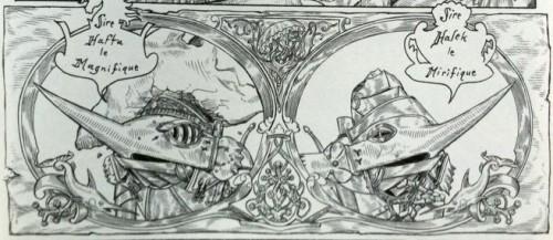 la fille maudite du capitaine pirate,bastian,editions de la cerise,pirates,aventures,fantastique,onirique,gustave doré,dürer,9.510,052014