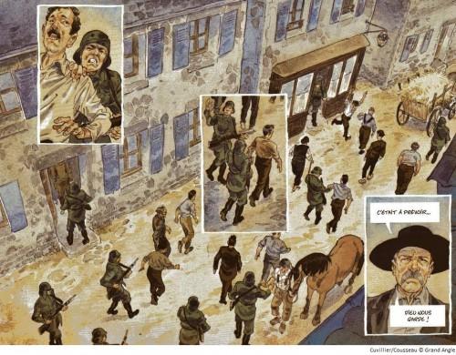 les souliers rouges,tome 1,geroeges,aventures,historique,1944,amitiés,guerre