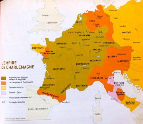 ils ont fait l'histoire,charlemagne,bruneau,delmas,lemercier,bührer thierry,glénat,fayard,histoire,carolingien,europe,empereur