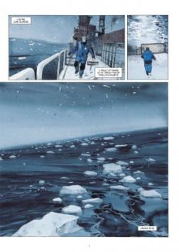 la lune est blanche,lepage,futuropolis,910,aventure,antarctique,reportage,voyage,102014