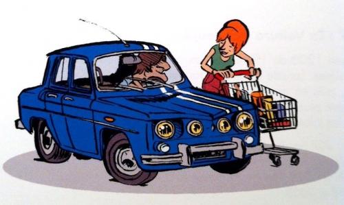 garage de paris,dugomier,bazile,glénat,plein gaz,voiture,automobile,4cv,2cv,dyna z,coccinelle,203,r8 gordini,traction avant,jeep,aronde,alpine a110