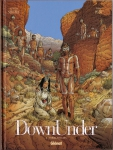 down under,terra nullius,poussières de rêve,l'homme de kenzie s river,sergeef,pezzi,chagnaud,glénat,australie,outback,bush,aborigènes,western,road movie