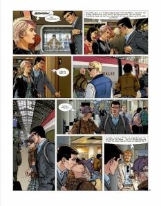 XIII- Le message du martyr, Jigounov, Sente, Dargaud, 9/10 , Aventure, polar, thriller, amnésie, complot, USA, 11/2014