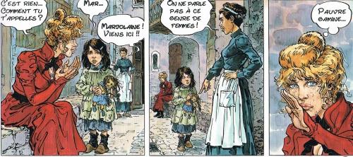 kas & galandon,la fille de paname,casque d'or,le lombard