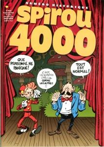 Spirou, journal, 4000, 10/12/2014