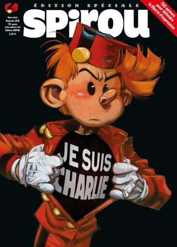 Spirou, Charlie Hebdo, Je suis charlie, Hors-série, Hommage, terrorisme, 01/2015