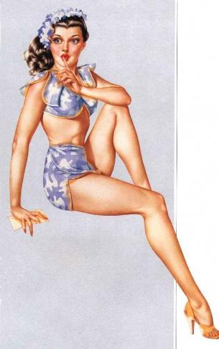 pin up,femme,sexy,alberto vargas