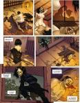 l'ombre des shinobis,premier rouleau,sylvain runberg,zhifeng xu,japon médiéval,aventures,fantastique