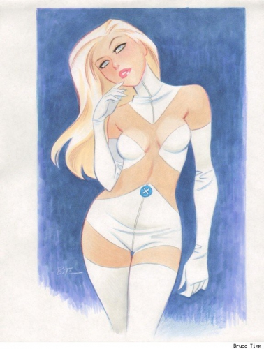 bruce timm,pin up,femme,sexy