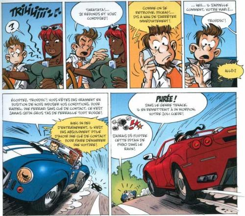 Waw!, Krings, Zidrou, Paquet,  7/10, humour, automobile, 03/2015