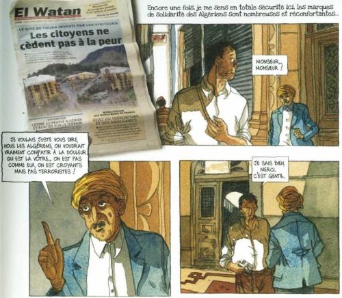 Petit-fils d'Algérie, Alessandra, Casterman, 9/10, voyage, Histoire, famille, algérie, racines, 04/2015