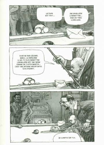 la république du catch,de crecy,casterman,810,manga,polar,catch,mafia,fantôme,042015