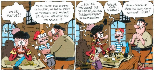 L'île carrément perdue, Cromheecke, Sti, Kramiek, 8/10, humour, 04/2015.