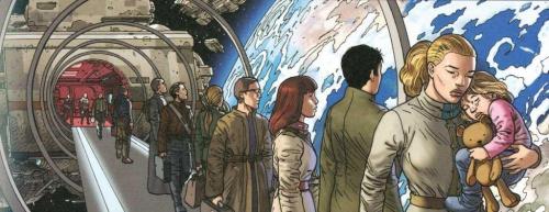 Centaurus, Janjetov, Leo, Rodolphe, Delcourt, 8/10, science-fiction, anticipation, aventures,03/2015