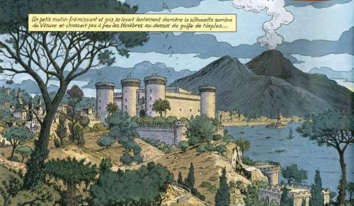Vasco, La cité ensevelie, Chaillet, Rousseau, Le lombard, 7/10, Aventures, Histoire, Moyen-Age, Vésuve, 03/2015