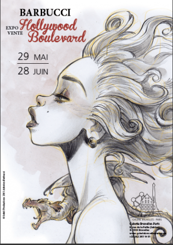 Exposition, Barbucci, Galerie Bruxelles-Paris,05/2015.