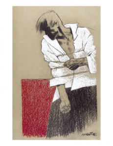Liberatore, Baudelaire, Glénat, Les Fleurs du mal, 8/10, Graphisme, Art, pictural, 05/2015