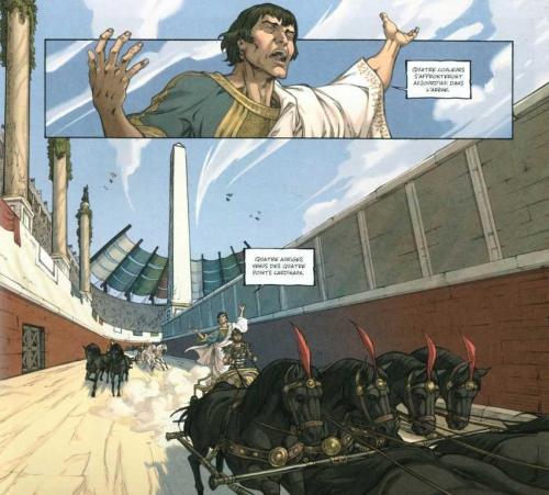 gloria victis,guerrero,fernandez,le lombard,710,histoire,antiquité,jeux du cirque,courses de chars,042015