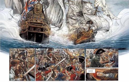 surcouf,roi des corsaires,delalande,erick surcouf,michel,glénat,histoire,marine,pirates,corsaires,st malo,royal navy,bataille navale,052015,710