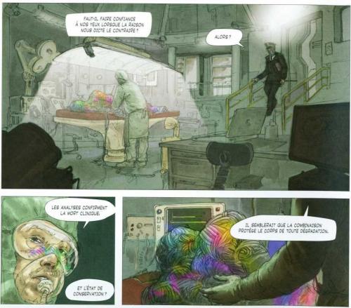 Les anges visiteurs, Murzeau, Barboni, Sandawé, 08/10, science fiction, 04/2015