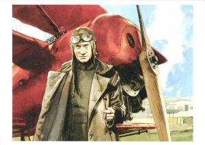 Baron rouge, Donjons et dragons, Puerta, Veys, Zéphyr BD, 8/10, aviation, aventure, histoire, première guerre mondiale, von Richthofen, 04/2015