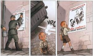 Les enfants de la Résistance, Ers, Dugomier, Le Lombard, 8/10, histoire, seconde guerre mondiale, occupation, résistance,05/2015